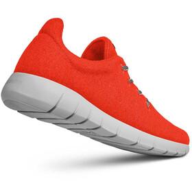 Giesswein Merino Wool Chaussures de running Homme, neon orange